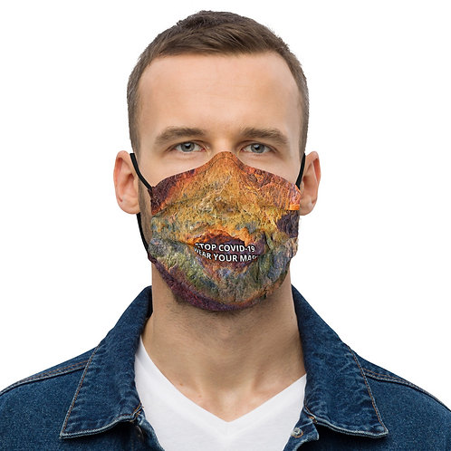 STOP COVID-19 - Wear Your RUSTY Face Mask