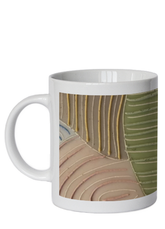 DISH COFFEE CUP