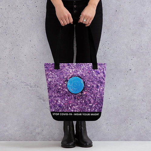 STOP COVID-19 - ROADY Tote Bag