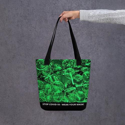 STOP COVID-19 - CRYSTAL Tote Bag