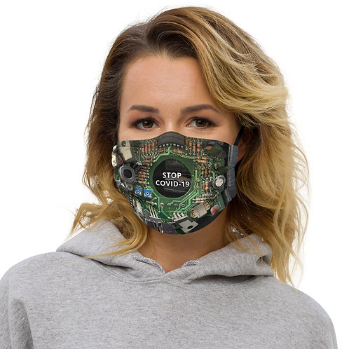 STOP COVID-19 - INTERCONNECTED Face Mask