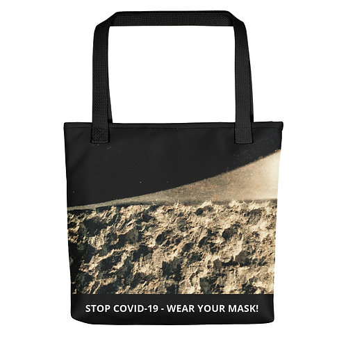 STOP COVID-19 - GRITTY Tote Bag