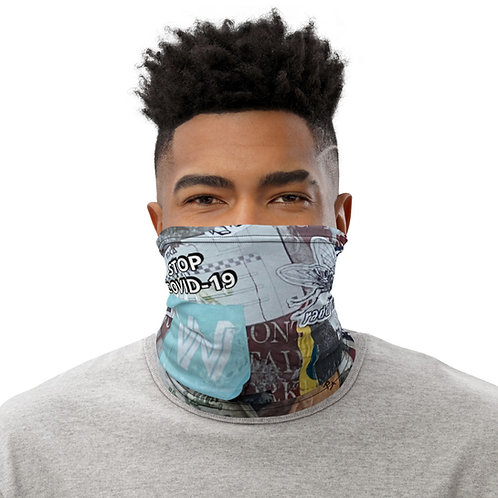 STOP COVID-19 - BROOKLYN Neck Gaiter Mask