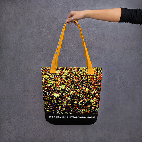 STOP COVID-19 - ENTANGLEMENT Tote Bag
