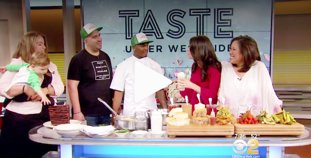 CBS Local Interviews Jacob's Pickles  On behalf of our client, Columbus Avenue BID, AMC arranged an OnAir Interview to promote TASTE Of The Upper West Side's Annual Food Fest - See Link: https://newyork.cbslocal.com/2019/05/12/taste-of-the-upper-west-side-returrns/