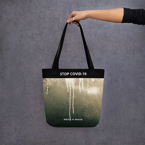 STOP COVID-19 - THE DRIP Tote Bag