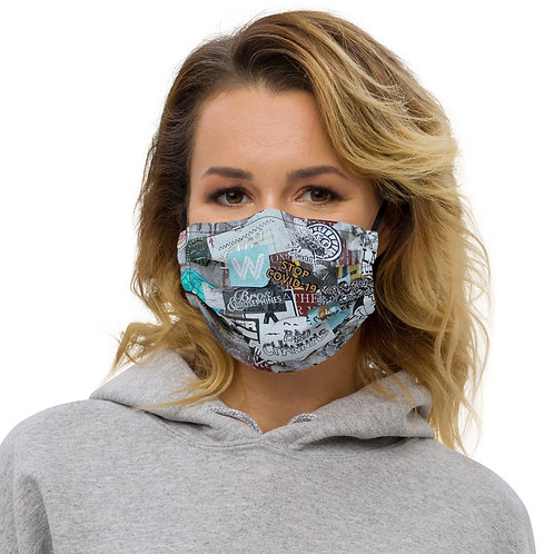 STOP COVID-19- BROOKLYN Face Mask
