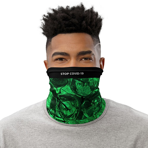 STOP COVID-19 - CRYSTAL Neck Gaiter Face Mask