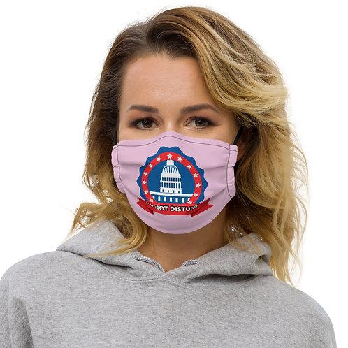 DO NOT DISTURB Pink Face Mask