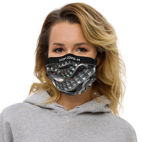 STOP COVID-19 - THE GRILL Face Mask