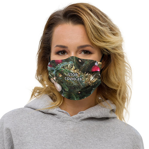 STOP COVID-19 - HOLIDAY Face Mask