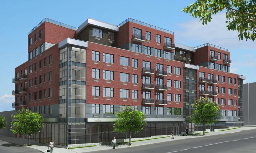 The Plex in Crown Heights  AMC client, Halcyon Management builds rental complex in Crown Heights - The Plex.