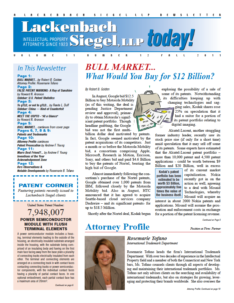 LS 2011 Newsletter