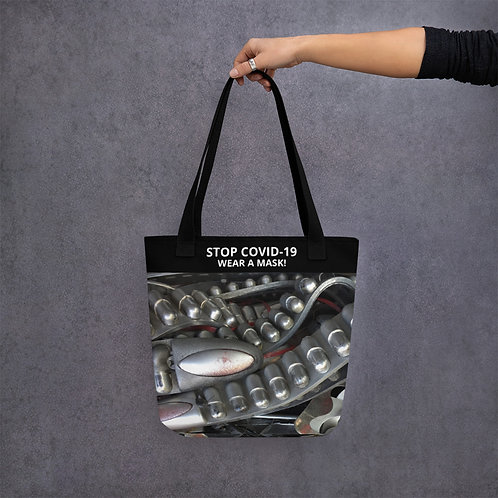 STOP COVID-19 - THE GRILL Tote Bag