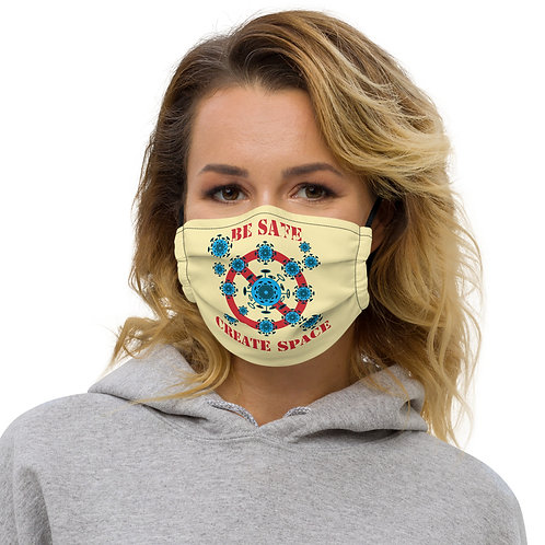 BE SAFE CREATE SPACE Face Mask