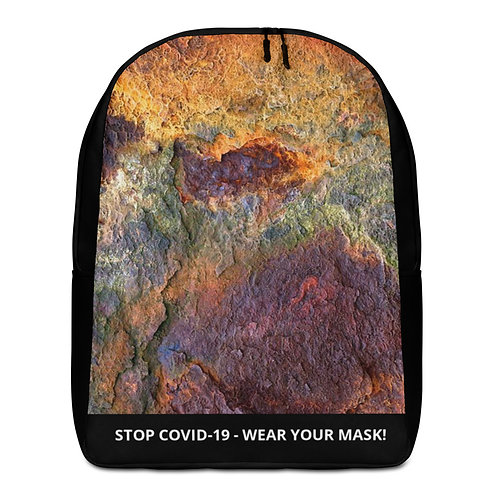 STOP COVID-19 - RUSTY BACKPACK
