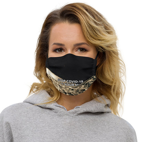 STOP COVID-19 - WEAR YOUR GRITTY Face Mask
