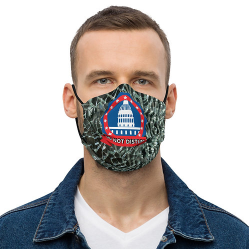 DO NOT DISTURB Fractured Face Mask