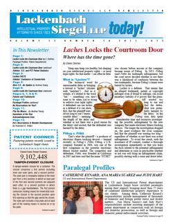 LS-2015 Newsletter