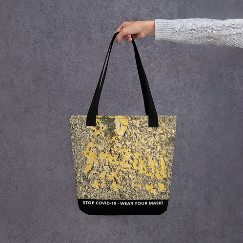 STOP COVID-19 - SPECKLED Tote Bag