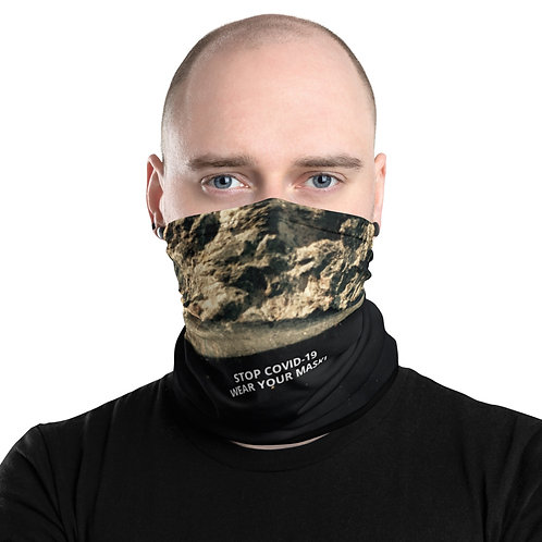 STOP COVID-19 - GRITTY Neck Gaiter Mask