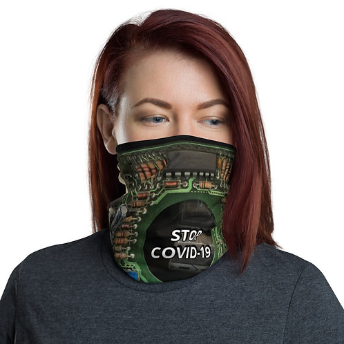 STOP COVID-19 - INTERCONNECTED - Neck Gaiter Mask