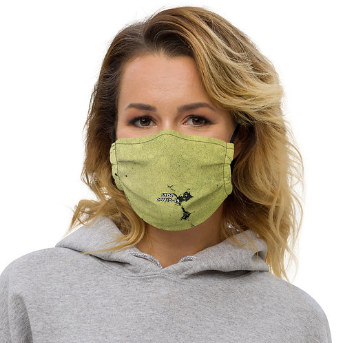 STOP COVID-19- TURTLE POND Face Mask