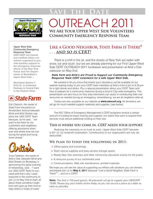 tb UWS CERT 2011 Fund Raising Letter