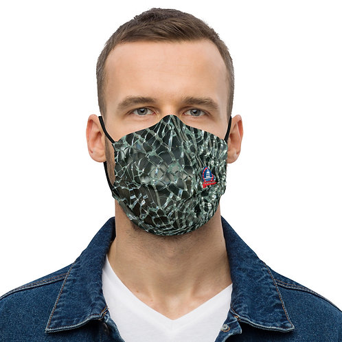 DO NOT DISTURB Fractured Face Mask sv1