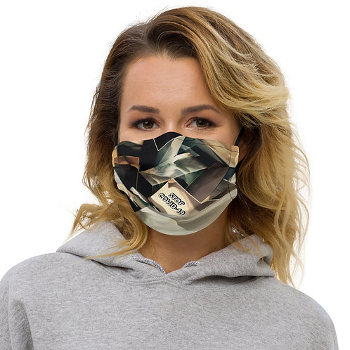 STOP COVID-19 - COLUMBIA Face Mask