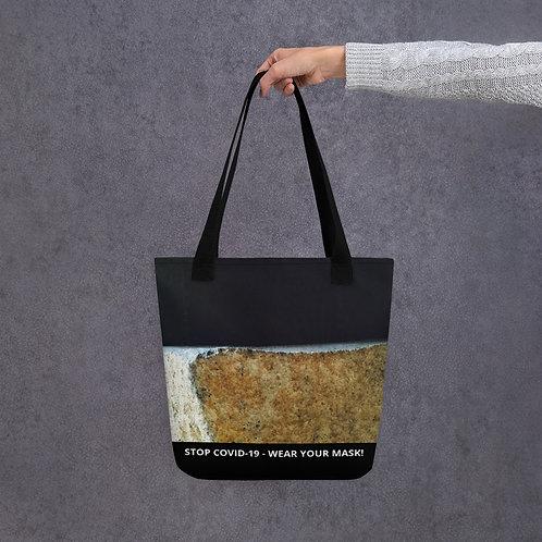 STOP COVID-19 - SMILE Tote Bag