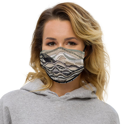 STOP COVID-19 - INTERTWINED Face Mask