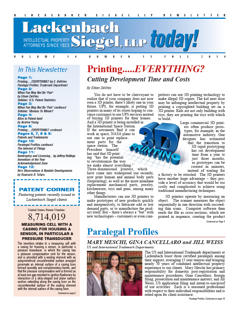 LS 2014 Newsletter Wix