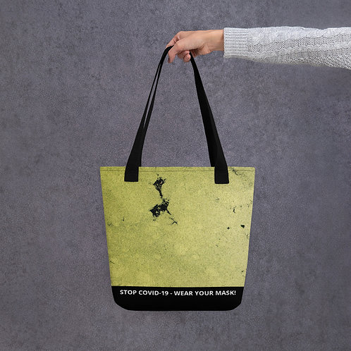 STOP COVID-19 - TURTLE POND Tote Bag