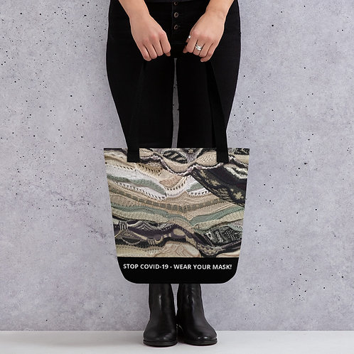 STOP COVID-19 - INTERTWINED Tote Bag