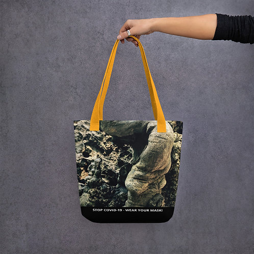STOP COVID-19 - THE ROOT Tote Bag