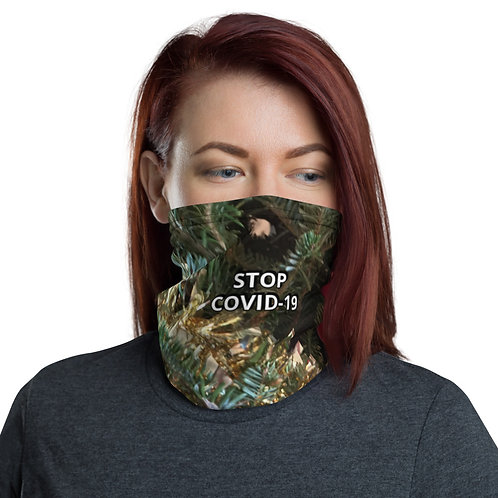 STOP COVID-19 - HOLIDAY CHEERS Neck Gaiter Mask