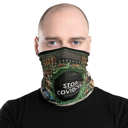 STOP COVID-19 - INTERCONNECTED Neck Gaiter Mask