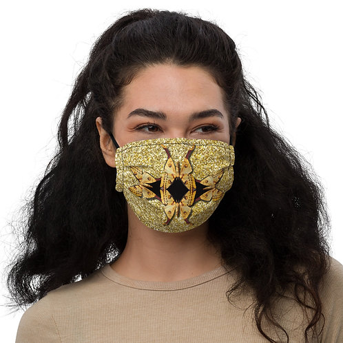 MOTHS PLAYING Face Mask