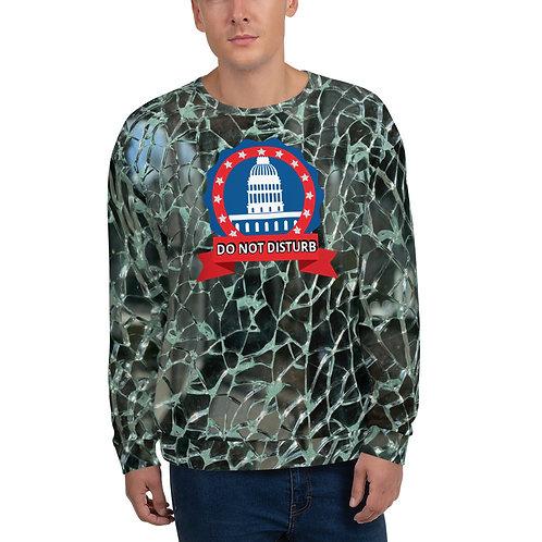 STOP COVID-19 - Fractured Sweatshirt