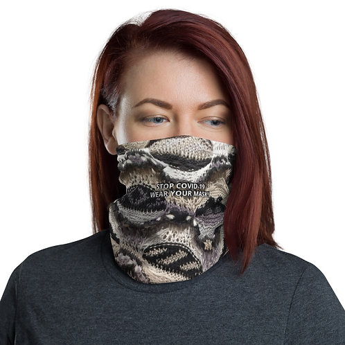 STOP COVID-19 - INTERTWINED Neck Gaiter Mask
