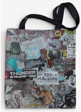 TOTE BAG REUSABLE-Greenpoint Posting 1.p