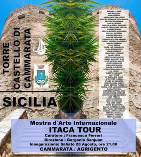 Itaca Tour mostra d'arte al castello di Cammarata