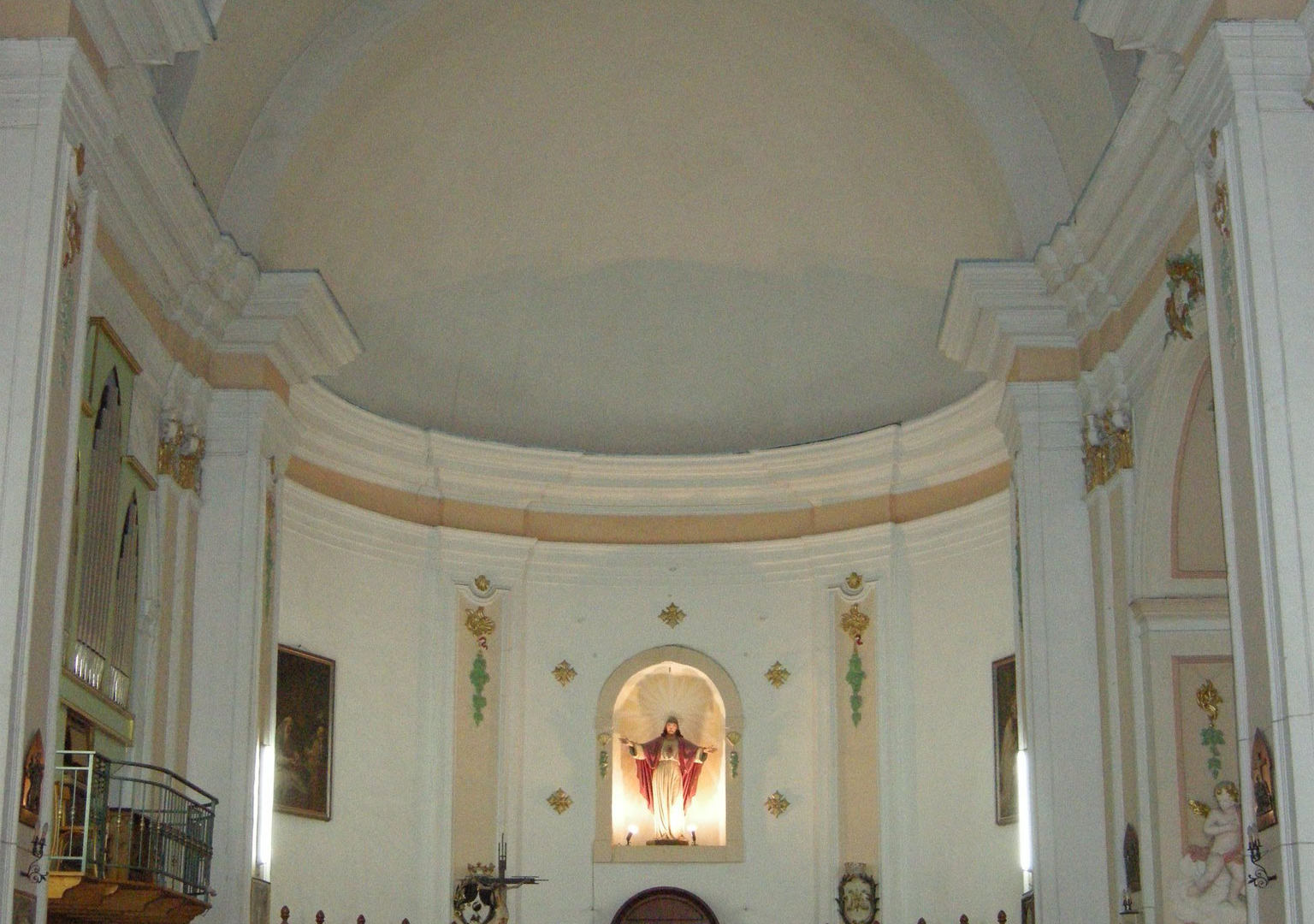 chiesa san domenico cammarata interni (4
