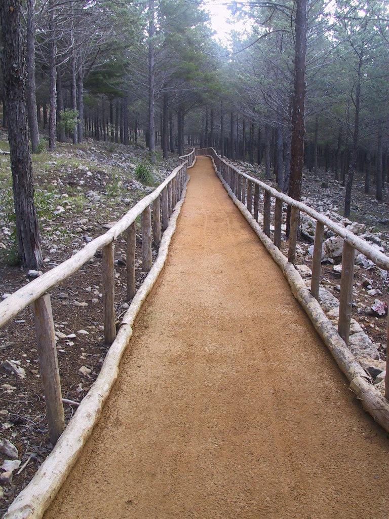 sentiero donna