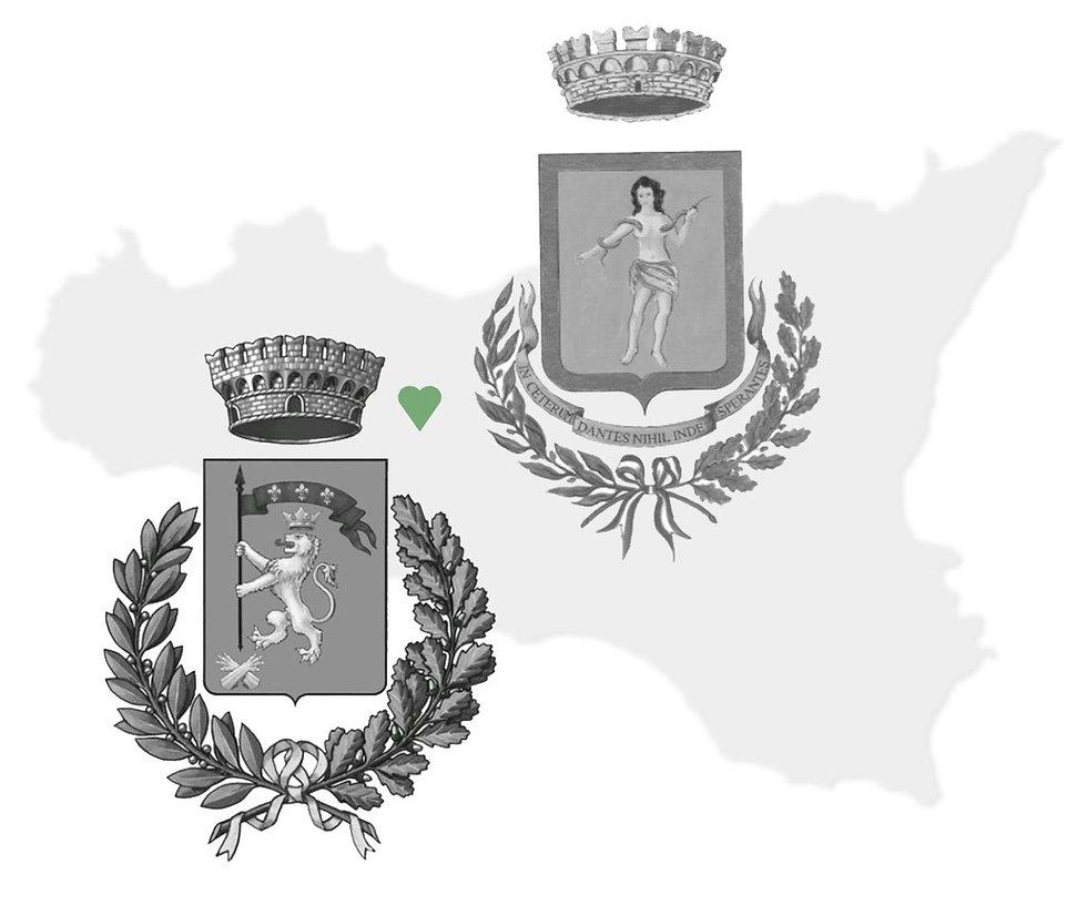 stemma cammarata e stemma san giovanni gemini