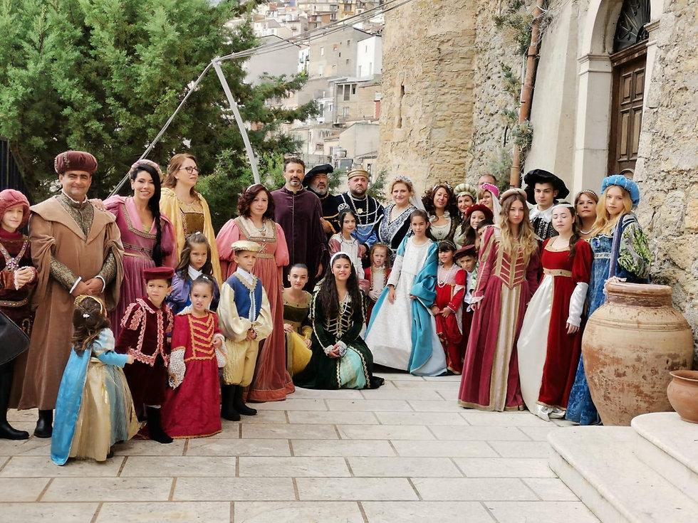 Il gruppo storico Abatellis Branciforti conti di cammarata