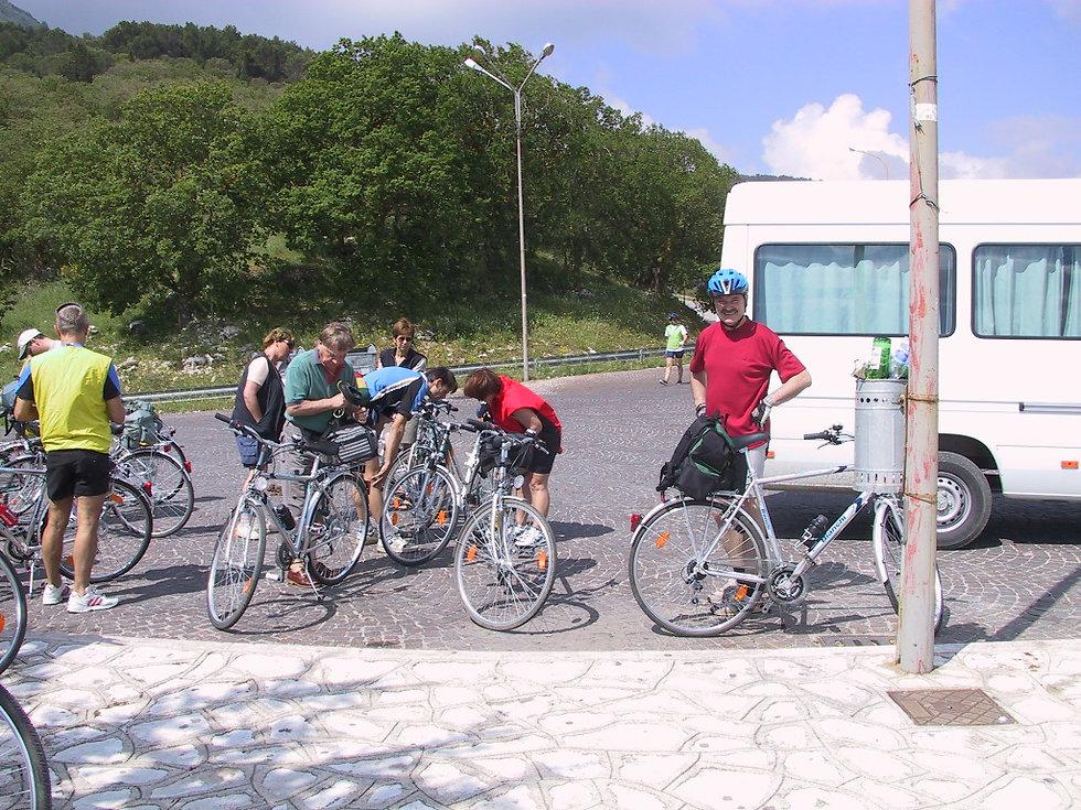 monte cammarata in bici