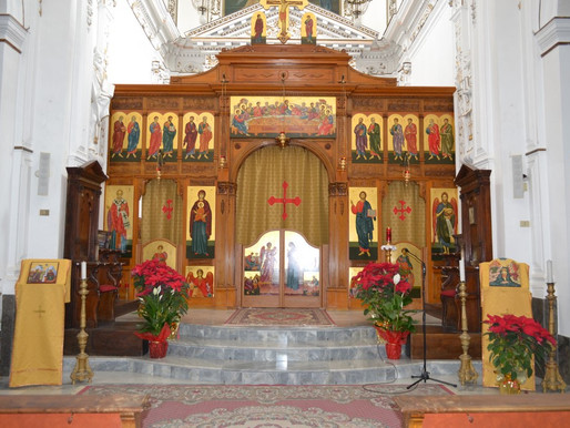 Greek church of Contessa Entellina