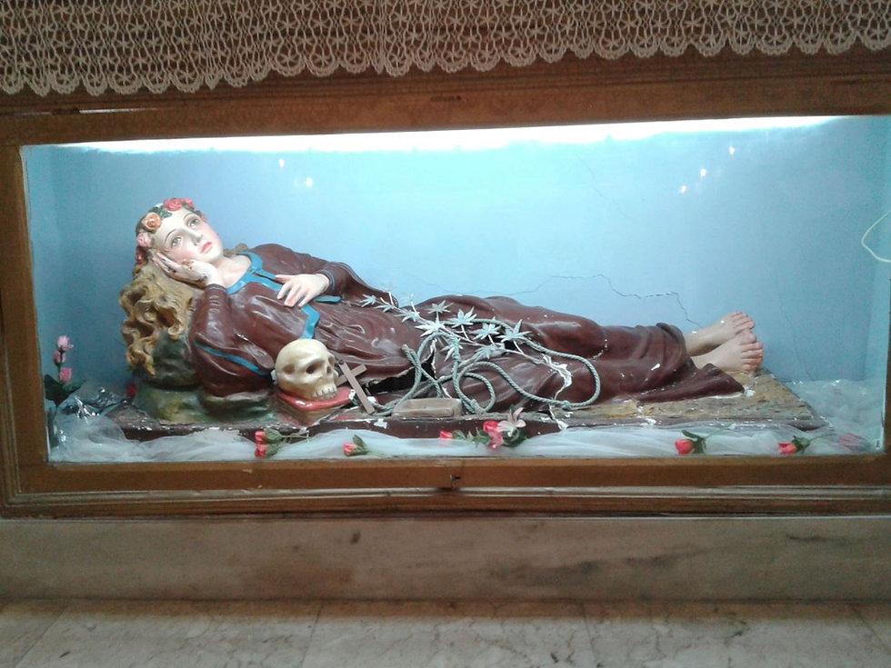 santa rosalia chiesa barone